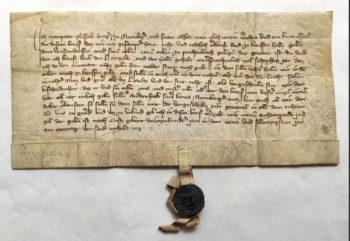 Herzogenaurach Mittelalter Pergament Urkunden Wachssiegel Archiv Mittelmesse Frühmesse Überlieferung Plessing Nürnberg