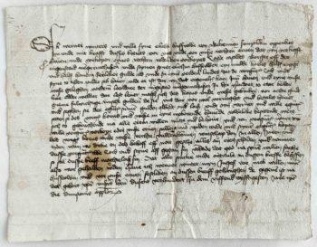 Gelderland Ijzendoorn Neder Betuwe Mittelalter Urkunde Kaufbrief Werner Winters Cord Casold