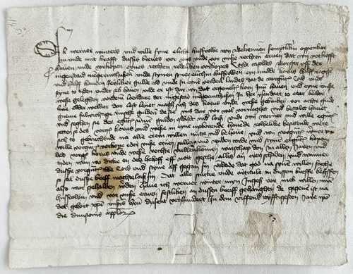 Gelderland Neder-Betuwe Ijzendoorn Mittelalter Urkunde Kaufbrief Werner Winters Cord Casold