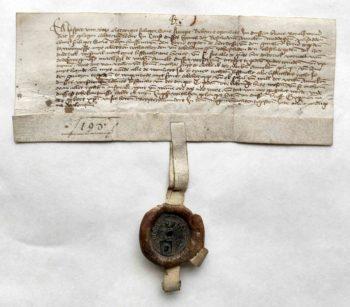Lehnsbrief Jasper von Uetze Urkunde Pergamenturkunde Siegel Wachssiegel Lehnsbrief Lehnswesen Mittelalter niederdeutsch