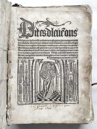 Ludolphus de Saxonia vita christi niederländisch Antwerpen 1503 Henrick Eckert van Homberch Holzschnitt Postinkunabel