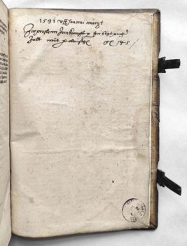 Eike von Repgow Sachsenspiegel Lehnrecht Postinkunabel 1508 Eintrag