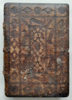 Beichtspiegel Mittelalter Postinkunabel Nürnberg 1510 Einband