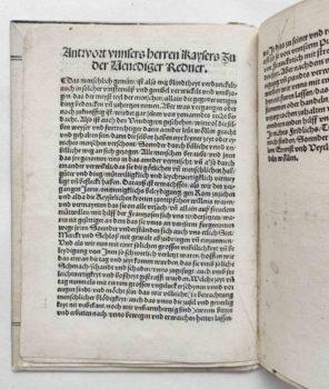 Giustinian Antonio Kaiser Maximilian I. Venezianerkriege 1510 Maximilian