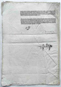 Kaiser Maximilian I. Reichstag Augsburg 1510 Postinkunabel Signaturen