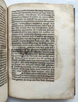 Johann von Staupitz Martin Luther Postinkunabel Mystik Leipzig Text