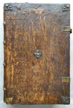 Bernhard von Clairvaux Zisterzienser Prediger Kreuzzug Mittelalter Postinkunabel Paris 1517 Einband