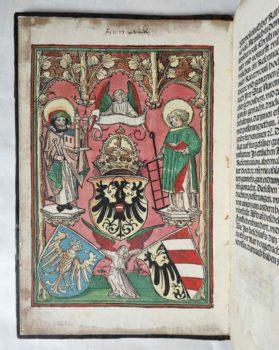 Nürnberg Stadtrecht Reformation Mittelalter Inkunabel Postinkunabel Rechtsbuch Jura Holzschnitt