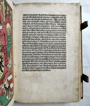 Nürnberg Stadtrecht Reformation Mittelalter Inkunabel Postinkunabel Rechtsbuch Jura Vorrede