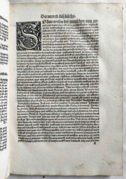Worms Stadtrecht Mittelalter Inkunabel Postinkunabel Rechtsbuch Jura Römisches Recht Strafrecht Kriminalrecht Vorrede