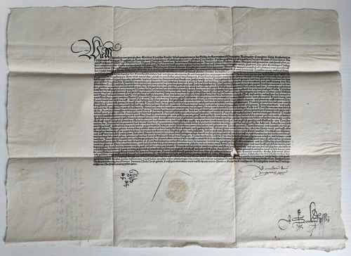 Maximilian I. römisch-deutscher Kaiser Flugschrift Einblattdruck Propaganda
