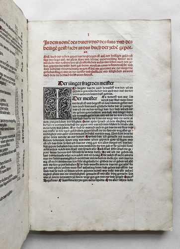 Marcus von Lindau Mittelalter Inkunabel deutsch Breidenbach Epitaph