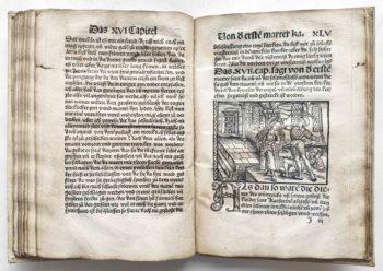 Frater Petrus legenda sanctae catharinae deutsch Holzschnitt Inkunabel Illustration